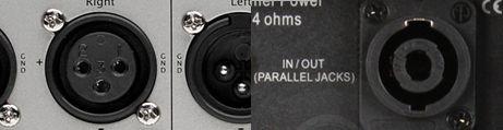 Speaker vers XLR